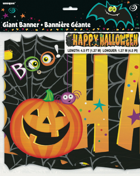 Happy Halloween Giant Banner